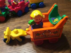 Jouets pour bébé ( lot de petites voitures )