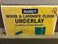 Wood and Laminate inderlay