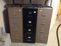 4DR LEGAL SIZE FILE CABINETS