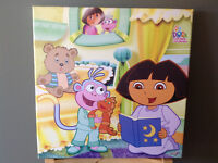 Dora Canvas Art + Dora Lamp + Dora Bonus