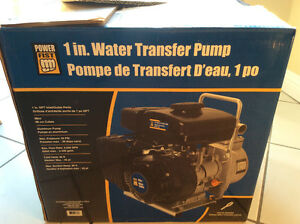 Power Fist 1 in. Water Transfer Pump - New - Never Used