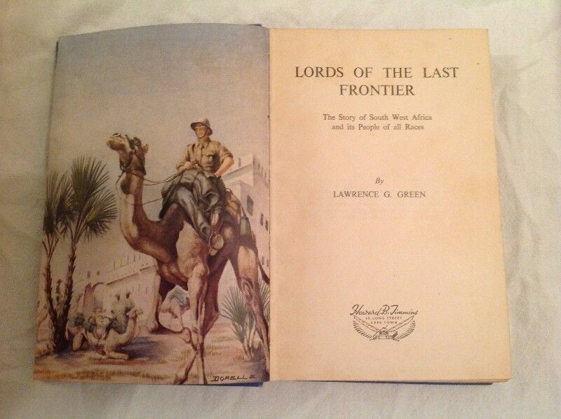 Lords of the Last Frontier - Lawrence Green