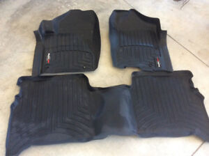 Weather Tech Floor liners( fits Nissan Titan 2009-2015 and more)