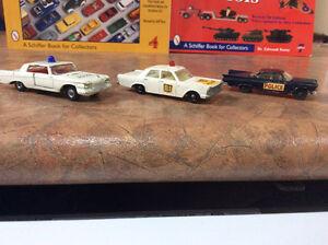 Vintage police car diecast