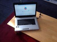 Toshiba L450D AMD 3GB windows 7 web cam wif cd/ DVD rewriter hdmi port USB ports Gwo