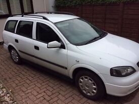 VAUXHALL. ASTRA VAN ESTATE 2001 LOW MILLAGE DRIVES PERFECT TOYOTA SEAT SKODA HONDA