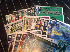 Selling Off 35 Green Latern The New 52 Issues $70 $2 A Book!!