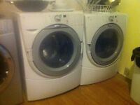 Whirlpool Front Loading Duet Washer Dryer Set