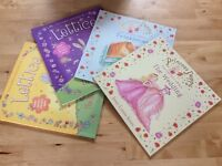 4 girls' books - 2 Princess Poppy and 2 Lettice - brand new