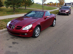 2005 Mercedes-Benz SLK-Class Leather Convertible