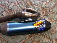 FMF 4.1 Full Ti system with carbon tip.