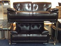 Brown 3seater + 2seater