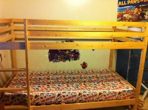 WOODEN BUNKBED FOR SALE ONLY $75