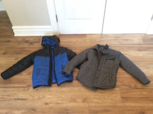 LOT OF 2 BOYS DC JACKETS SZ-S (8)  ** NEW CONDITION**