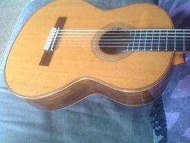 Classical guitar A burguet