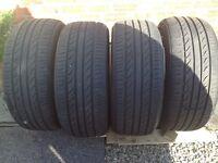 Tyres 235/55 17