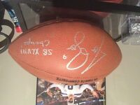 Nfl football signed by Seahawks