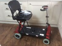 MONARCH MOBIE FOLDING MOBILITY SCOOTER, FREE DELIVERY.