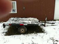 two snowmobile  or  4 wheelerTRAILER