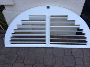 home window top custom made wooden ARCH - decor