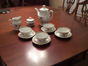 China Tea Set. Never used. Made in Poland. $65