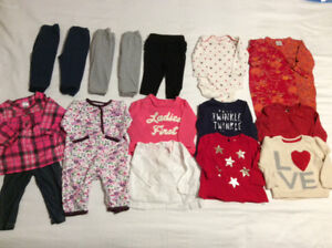 Baby Girl's Clothing Lot (3-6 months)