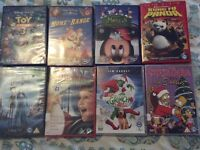 Selection of children's DVDs Disney, dream works £13
