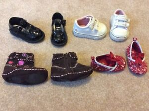 Baby Girl Shoes, Sneakers & Boots, Size 2
