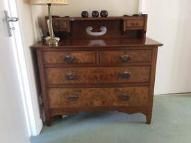 Antique Dark wood unit