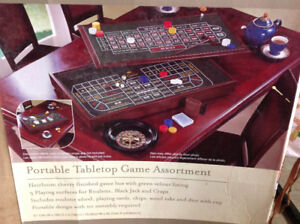 Portable Tabletop Game Assortment