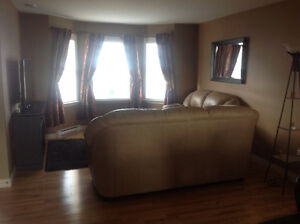 Fully furnished 3 bedroom 2.5 bathroom apartment