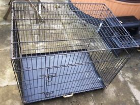 Large and small dog pet cages