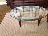 Ashley coffee table and side table