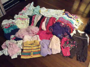 Lot of baby girl clothes, size 6-12 months JJ