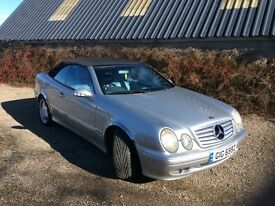 Mercedes CLK 320 Avantgarde. Year 2000