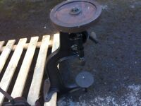 Old Vintage Cast Iron Hand Bench Drill