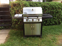 Barbecue grill chef en stainless