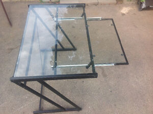 """COMPUTER DESK  - 3 ft X 2 ft X 30""""H with pul out keyboard shelf"""