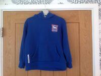 ITFC Ipswich Town Football Club Hoodie Sweater Top Age 7-8 Years Boys / Girls