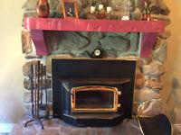 foyer a bois  de marque  regency
