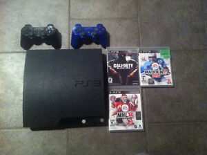 PS3  120 GIGS  MINT CONDITION