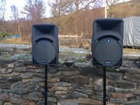Full mackie pa system