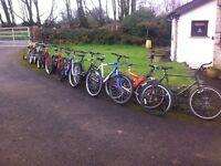 10 gents mountain bikes for repair or spares