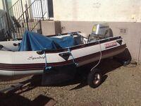 Boat rib 3.4 m