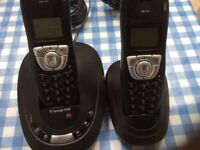 BT Synergy 4500 twin phones with answer phone