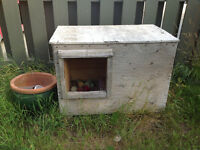 Dog house available for free