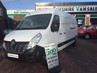2015 15 RENAULT MASTER NEW SHAPE 2.3 LM35 BUSINESS DCI LWB 125 BHP CHOICE DIESEL