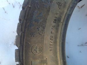 Wanted 1 winter tire continental 4X4ice  contact 255x55R18
