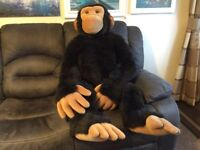 GIANT CHIMPANZEE *ARK TOYS* ~ PREMIER COLLECTION (A Huge - 140cm Head to Toe)