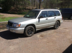 """2000 Subaru Forester for sale """"AS IS"""""""